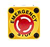 APEM Surface Mount Mushroom Head Emergency Button -
