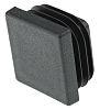 Rose+Krieger Black Square Tube Plug, 30mm 30 mm strut profile