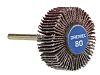 Dremel Aluminium Oxide Flap Wheel, 28.6mm Diameter, P80