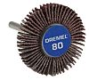 Dremel Aluminium Oxide Flap Wheel, 28.6mm Diameter, P80