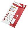 Velcro White Hook & Loop Tape, 16mm x