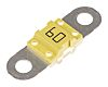 Pudenz 60A Yellow BF1 Car Fuse, 32V dc