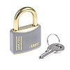 ABUS XR0084T40KA5 All Weather Brass Safety Padlock Keyed