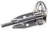 RS PRO Stainless Steel Padlockable Door Bolt, 101mm
