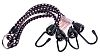 RS PRO 4 Hooks Bungee Cord, 600mm Long,