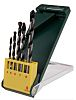 Bosch 5 piece Multi-Material Twist Drill Bit Set,