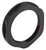 Lapp Black Fibreglass PA Cable Gland Locknut, PG29
