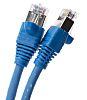 Cat6 RJ45 UTP patch cable, blue, 1m