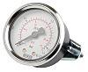 WIKA Back Entry Pressure Gauge 1.6bar RS Calibration, 7833985