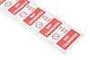 RS PRO Adhesive Pre-Printed Adhesive Label-Do Not Use-.