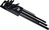 RS PRO 9 Piece L Shape Long arm Torx Key Set