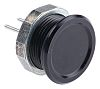 Black Solder Piezo Switch, , IP67, 100 mA,