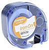 DYMO Black on White Label Printer Tape, 12