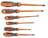 Sibille 1000V Slotted; Phillips Screwdriver Set 6 Piece