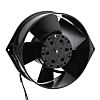 axiális ventilátor AC, 150 x 55mm, 385m³/h, 47W, 230 V AC (W2S130 sorozat) Kör alakú