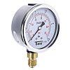 Sferaco G 1/4 Bottom Entry Pressure Gauge 2.5bar RS Calibration, 1613003