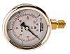 Sferaco G 1/4 Bottom Entry Pressure Gauge 4bar RS Calibration, 1613004