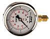 Sferaco G 1/4 Bottom Entry Pressure Gauge 6bar RS Calibration, 1613005