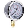 Sferaco 1613006 Analogue Positive Pressure Gauge Bottom Entry