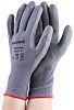 Honeywell Safety Grey Polyurethane Coated Nylon Work Gloves, Size 7, Small, 2 Gloves