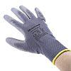 Honeywell, Grey Polyurethane Coated Work Gloves, Size 9