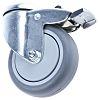 Tente Stem Swivel Castors 2477PJP075P30-11, 75kg, Rubber tyres