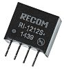 Recom RI 2W Isolated DC-DC Converter Through Hole, Voltage in 10.8 → 13.2 V dc, Voltage out 12V dc