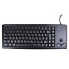 Cherry Trackball Keyboard Wired PS/2 Compact, QWERTY (UK) Black
