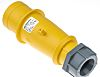 MENNEKES, AM-TOP IP44 Yellow Cable Mount 3P Industrial