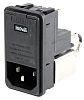 Male IEC/EN 60939 IEC Filter Snap-In 5 x