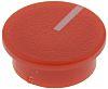 RS PRO Potentiometer Knob Cap, 19mm Knob Diameter,