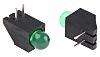 Kingbright L-1503CB/1GD, Green Right Angle PCB LED Indicator,