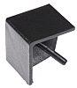 Bosch Rexroth Black Polypropylene Corner Bracket Cap R20