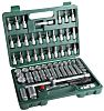 MTI 568-038 61 Piece Socket Set, 3/8 in