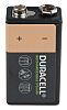 Duracell 150mAh NiMH 9V Rechargeable Battery