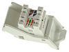 Molex Premise Networks Angled Cat6 RJ45 Modular Outlet,With