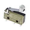 SPDT-NO/NC Roller Lever Microswitch, 6 A @ 250