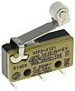 SPDT-NO/NC Roller Lever Microswitch, 10.1 A @ 250