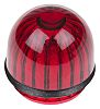 Panel Mount Indicator Lens Domed Style, Red, 15.86mm