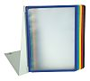 Durable Black, Blue, Green, Red, Yellow Desktop Document