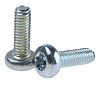 Zinc plated & clear Passivated Pan Steel Tamper
