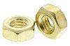 RS PRO Brass, Hex Nut, M4
