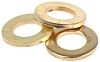 Brass Plain Washer, 1mm Thickness, M5