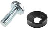 10 piece Steel Screw/Bolt & Washer Kit, M6