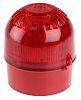 Klaxon Sonos Sounder Beacon 106dB, Red LED, 17