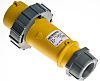 MENNEKES, AM-TOP IP67 Yellow Cable Mount 2P+E Industrial