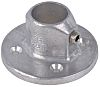 Kee Lite L61 Wall Flange, 33.7mm Round Tube,