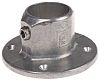 Kee Lite L61 Wall Flange, 48mm Round Tube,