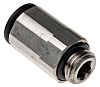 Legris Pneumatic Straight Threaded-to-Tube Adapter, M10 x 1