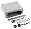 METCASE Unimet Grey Aluminium Project Box, 190 x